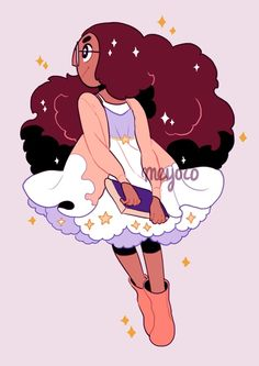 Floofy aesthetic ☁️✨☁️  I love these styles on Connie!