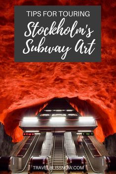 Tips to see Stockholm's subway art