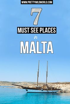Check out these stunning places in Malta you must not miss when you visit! Travel enthusiasts, don't leave without visiting Valetta, Gozo, and Comino Islands!