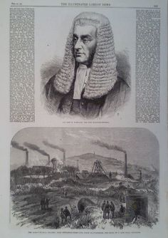 1866 PRINT THE TALK O TH HILL COLLIERY NEAR NEWCASTLE UNDER LYNE-JOHN B KERSLAKE. Some of my ancestors were surnamed Kerslake & I am interested in the history of the surname - if you're researching this surname, please get in touch at liz <at> lizweb.net