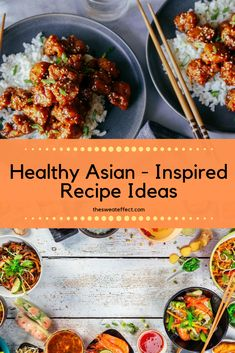 Craving takeout but don't want to leave the house or all the calories that come with it? I compiled my top healthy recipe versions of asian dishes. From fried rice to fresh rolls, I got you covered! Nutrition Guide, Healthy Nutrition, Cooking Recipes, Healthy Recipes, Easy Food To Make, Fresh Rolls, Fried Rice, Food Inspiration, Cravings