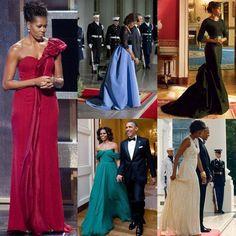 #Repost @flaviaasantos with @repostapp. ・・・ Michelle Obama e seu estilo elegante, contemporâneo, sofisticado e feminino! #somosfas Ela comunica através do seu guarda-roupa: bom gosto, personalidade, feminilidade e adequação. Belíssima! #estudando #pesquisando #santteestilo #amomeutrabalho #consultoradeestilo #consultoriadeestilo #michelleobama #dress #love #redcarpet
