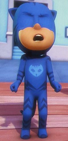 Disney Jr. PJ Masks show - catboy character