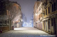 Venice in the snow is just magic