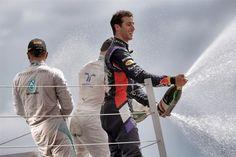 British GP 2014 Race Podium  1 Lewis Hamilton Mercedes AMG  2 Valtteri Bottas Williams F1 Team  3 Daniel Ricciardo Red Bull Racing
