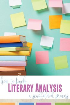How to teach literary analysis in a meaningful way? Teaching literary analysis can be a scaffolded process in your language arts classroom. Add literary analysis activities that include student choice while maintaing rigor. Teaching literary analysis can be used with novel studies or short story units. Literary analysis activities for high school language arts will meet writing standards and literature standards. How to teach literary analysis? Ask targeted questions that advance readers.
