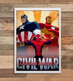 18 Best Captain America Civil War Party Ideas Marvel Images