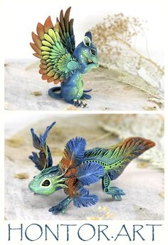 Cute Axolotl Figurine by Evgeny Hontor. Dragon Sculpture Biomechanical Salamander Creature Decor Polymer Clay Animals Clay Figures Casting Resin