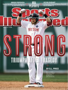 Jonny Gomes is on the cover of this week's regional Sports Illustrated. BOSTON STRONG!
