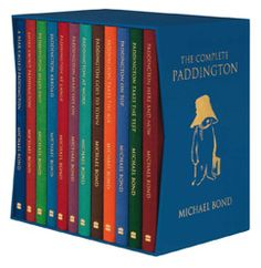 The complete set of Paddington Bear's adventures