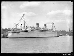 SS MARIPOSA moored at east Circular Quay | Flickr - Photo Sharing!