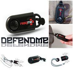 อุปกรณ์สัญญาณเตือนภัยส่วนบุคคล Resqme Defendme