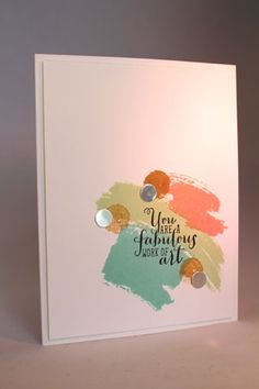 Sugar, You are Fabulous by emarcks - Cards and Paper Crafts at Splitcoaststampers