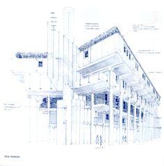 """""""G.P.Frassinelli / Superstudio: Architectual Designes"""", Exhibition Catalog, Stichting Bolhuis, 1983, P54"""