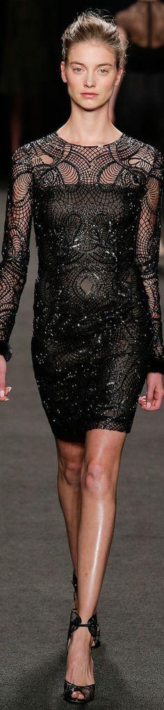 LOOKandLOVEwithLOLO: NYFW FALL 2014 Ready-To-Wear featuring Cushnie et Ochs, Hervé Léger, and Monique Lhuillier