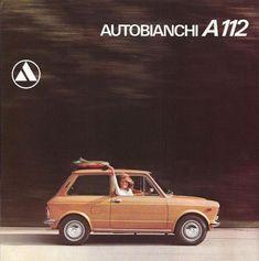 Autobianchi A112 - Giacosa - le auto mitiche – dannatavintage