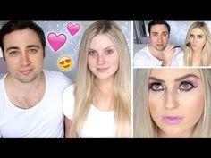 Boyfriend Does My Makeup ♡ Shaaanxo & MooshMooshVlogs