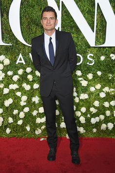 Orlando Bloom wearingStella McCartney.
