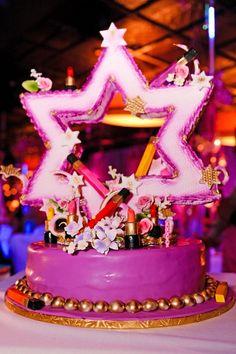 Bat Mitzvah Fashion Cake Lipstick, Lasting Memories Photography - mazelmoments.com