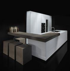 Kitchen One Corian by Rifra