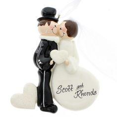 Wedding Kiss Ornament