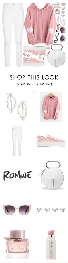 """""""Romwe Heart Print Hoodie!"""" by nvoyce ❤ liked on Polyvore featuring AG Adriano Goldschmied, Chiara Ferragni, 3.1 Phillip Lim, Christian Dior, Burberry and Puma"""