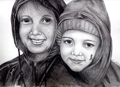 11 x 14 pencil portrait