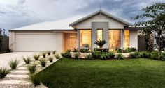 We have a range of house & land packages available throughout Perth's northern & southern suburbs. House Color Schemes, Colour Schemes, House Colors, Front Yard Landscaping, Landscaping Ideas, My Dream Home, Dream Homes, Mission Viejo, Historic Homes