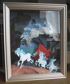 """Careless Sea Foam"" by Steph Laberis for the upcoming Last Unicorn show . Cartoon Faces, Cartoon Drawings, The Last Unicorn, Beautiful Film, Simple Cartoon, Unicorn Art, The Dark Crystal, Paper Artwork, Cartoon Wallpaper"