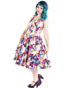 Hearts and Roses   Springtime Sky Dress  - Tragic Beautiful buy online from Australia