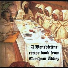 A Worcestershire historian has compiled a book of recipes used by Benedictine monks of Evesham Abbey.
