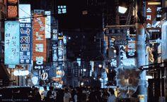 NF. 102    The Chaser (2008)    South Korean film.    Neon Aesthetic