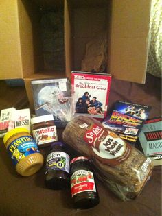 Hope I won't ever have to send it.  Break up care package