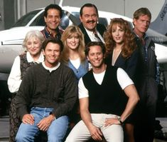Wings Cast ~ I could watch this show over and over. Love all the characters here. Could Tim Daily be any cuter?! Crystal Bernard is the sweetest!