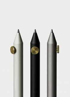 Neri Pencil by Giulio Iacchetti  - Via @aesencecom | Minimal Objects and Things