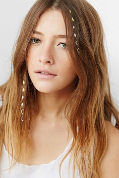 Festival Weekend Hair Charms - Urban Outfitters