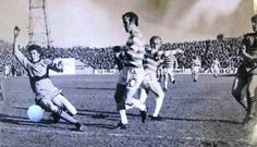 Dundee Utd 2 Celtic 2 in March 1973 at Tannadice. Bobby Lennox scores for Celtic #ScotDiv1