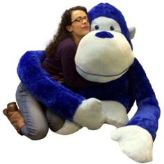 Stuffed Giant Monkey Plush Animal Hot Products 2bd9d E38af