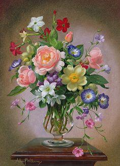 roses-peonies-and-freesias-in-a-glass-vase-albert-williams.jpg 653×900 пикс