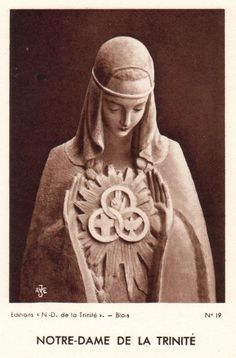 The Blessed Virgin Mary of the Most Holy Trinity & the Holy Eucharist +