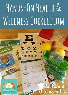 Hands-On K-5 Health and Wellness Curriculum (+ Discount Code!) - http://www.proverbialhomemaker.com/way-comes-home-health-and-wellness-curriculum.html