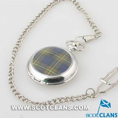 MacLaren Tartan Face Pocket Watch