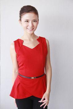 Sabrina Tulip Top - RM55