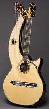 Doolin Guitars, 20-string Harp Guitar. A dream of mine since hearing the work of John Doan!