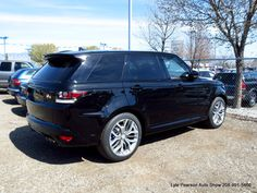 Range Rover Sport SVR one of the fastest production SUVs on the planet. #landrover #rangeroversportSVR #sportSVR #rangerover #svr
