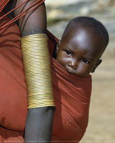 Samburu Baby, Kenye