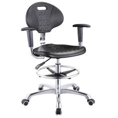 High quality lab stool chair adjustable stool with wheels lab laboratory chair round chair - China Foshan Office Chair & Computer Seating Factory in Alibaba