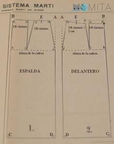 Falda tipo sistema Marti | Momita's blog