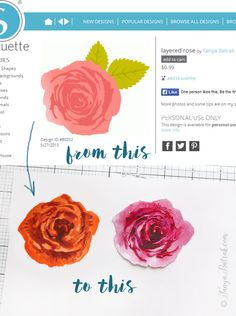 Tips for using Silhouette cut files (including making stamps)