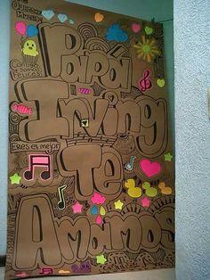 Dia del papá #regaloparapapa #TeamoPapa Diy And Crafts, Crafts For Kids, Stick Crafts, Burlap Crafts, Cork Crafts, Bottle Crafts, Watermelon Art, I Love My Dad, Diy Notebook